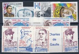 EC-806: THEMATIQUE DE GAULE:  Lot Avec Timbres **100 Ans De La Naissance De DE GAULE - De Gaulle (Generale)