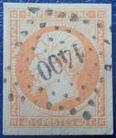 R1311/211 - NAPOLEON III N°16 - LUXE - PC 1400 : GISORS (Eure) INDICE 3 - GRANDES MARGES - 1853-1860 Napoléon III.