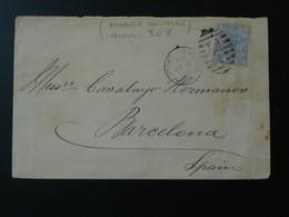 Lettre Cover London Throgmorton Avenue 1882 Grande Bretagne Great Britain Ref 816 - Covers & Documents