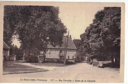 CPA   GY  Rue Versaille - Route De La Chapelle - Andere Gemeenten
