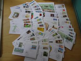 Bund Jahrgang 2008 FDC Komplett Mit Selbstklebende (15346H) - FDC: Briefe