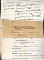 10 08/F//   LIER  P HAESENBROECK :PRO JUSTITIA// ONTWERP STANDREGELS PVBA HASENBROECKX - Historische Documenten