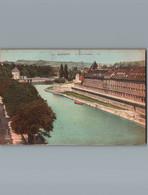 25 - Doubs - Besançon - Cpa  - Le Quai Vauban - Besancon