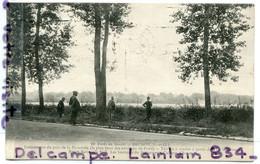 - 10 - BRUNOY - ( Seine Et Oise ), Lotissement Du Parc De La Pyramide, Forêt De Sénart, écrite 1922, TBE,  Scans. - Brunoy