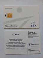 FRANCE PRIVEE GN109 DGA 5U NEUVE MINT - 5 Unidades