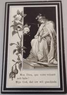 Marie Ferdinande Van Loo-gand 1848-lokeren 1905-vouw Voorzijde ! - Devotion Images