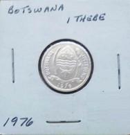 Botswana 1976 - 1 Thebe - Botswana
