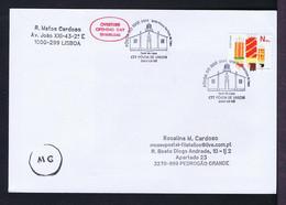 Sp7890 PORTUGAL Póvoa De Varzim LAPA Farol Lighthouses Phares Architecture 2011+ Our Lady Lapa Church Mailed (expertise) - Fari
