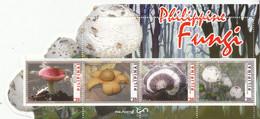 2019 Philippines Fungi Mushrooms Souvenir Sheet - Pilze