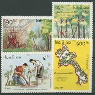 Laos 1989 Schutz Des Waldes 1142/45 Postfrisch - Laos