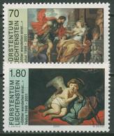 """Liechtenstein 2000 Kunstausstellung """"Götter"""" 1227/28 Postfrisch - Ungebraucht"""