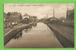 HAL   -   Le Canal De Charleroi - Quai Au Charbon - Halle