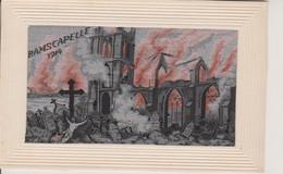 RAMSCAPELLE 1914 - CARTE EN SOIE - SILK - Nieuwpoort