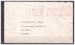 Eire / Ireland 1932 Red Meter - Storia Postale