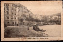 Italia - Cartolina Postale - Circa 1920 - Santa Margherita Ligure - La Spiaggia - A1RR2 - Genova (Genua)