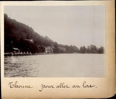 Photo Thun Kt. Bern Schweiz, Pour Aller Au Lac - Unclassified