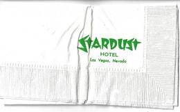 Stardust Casino - Las Vegas, NV  - Napkin - Company Logo Napkins