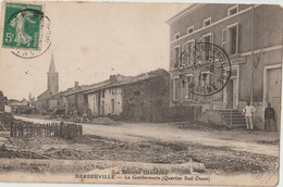 HERBEUVILLE - La Gendarmerie  ( Quartier Sud - Ouest ) . Personnages. Serie La Meuse Illustrée. - Altri Comuni