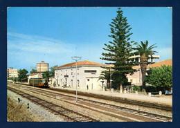 Italie. Monasterace Marina ( Reggio Calabria). Stazione FF.SS. 1978 - Reggio Calabria
