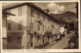 CPA Bardonecchia Piemonte, Hotel Bardonecchia E Via Medail - Andere