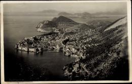 CPA Dubrovnik Kroatien, Panoramablick Auf Die Stadt - Kroatien