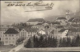 CPA Delémont Kt. Jura Schweiz, Vue Générale - JU Jura