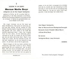 Martha Bovyn (1895-1971) - Santini