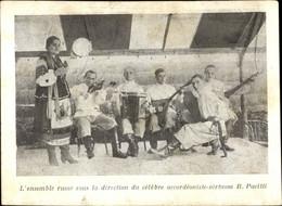 CPA L'ensemble Russe Sous La Direction Du Célèbre Accordéoniste Virtuose B. Pacitti - Personnages Historiques