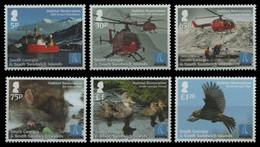 Süd-Georgien 2013 - Mi-Nr. 607-612 ** - MNH - Fauna - Zuid-Georgia