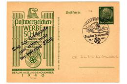 50427 - Entier  Illustré  Avec Surcharge - Elzas-Lotharingen