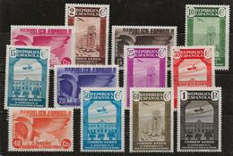 Espagne 1936 N° Y&T : PA. 96 à 107 * - Ungebraucht