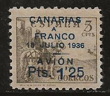 Espagne 1936-1937 N° Y&T : PA. 133 * - Neufs
