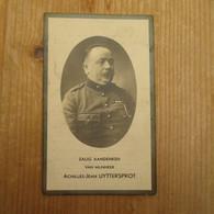 Denderbelle Mechelen Militair  Adjudant Artillerie1890 1937 Achilles Uyttersprot - Santini