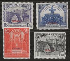 Espagne 1931 N° Y&T : TS. 22,25,26 Et 27 * - Dienstpost
