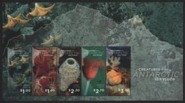 Ross-Gebiet 2016 - Mi-Nr. Block 17 ** - MNH - Meeresleben / Marine Life - Unused Stamps