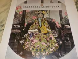 PHOTO LA THEODORA CHINOISE TSOU-HSI 1911 - Unclassified