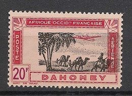 Dahomey - 1942 - PA N°Yv. 16 - 20f Carmin - Variété Centre Décalé - Neuf Luxe ** / MNH / Postfrisch - Neufs