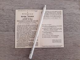 Elisa Vyvey (Westkerke 1878 - Westkerke 1950);De Roo;Vanhooren - Santini