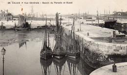 CP- CALAIS - Vue Générale-Bassin Du Paradis- - Calais