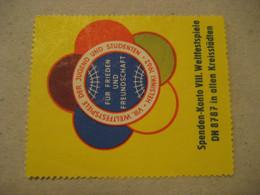 HELSINKI 1962 Young Children Students Poster Stamp Vignette FINLAND Label - Sonstige