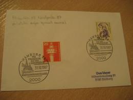 HAMBURG Germany 1987 Finland 88 Nordposta 87 Philatelic Expo Special Cancel Cover FINLAND - Sonstige