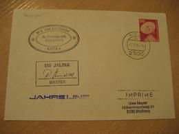 JALINA MS Kotka Finland Post Ship Cover KIEL 1985 Cancel GERMANY - Sonstige