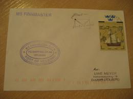 FINNMASTER MS Ojfh Port Of Helsinki Finland Ship Cover SASSNITZ 199? Cancel GERMANY - Sonstige