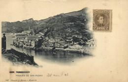 SAN SABASTIAN PASAJES DE SAN PEDRO   + Beau Timbre 2cent Pionnière RV - Guipúzcoa (San Sebastián)