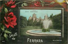 FERRARA. Castello Giardino Pubblico 1912 - Ferrara
