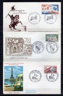 FRANCE - FR524 - Lot De 21 FDC - 1966 - Divers - 1960-1969