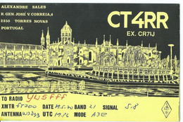 Portugal 1970 QSL Cards - Radio Amateur Torres Novas - Radio Amateur