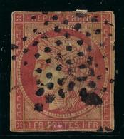 FRANCE CLASSIQUE: Le Y&T 6B, 3-4 Marges, Obl. étoile Muette, Des Défauts (voir Scans Haute Définition), Très Forte Cote - 1849-1850 Ceres