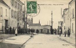 TRILPORT  (S Et M) Place De La Poste  Animée RV - Autres Communes