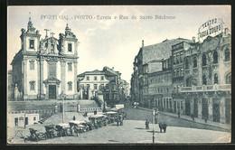 AK Porto, Egreja E Rua De Santo Ildefonso - Porto